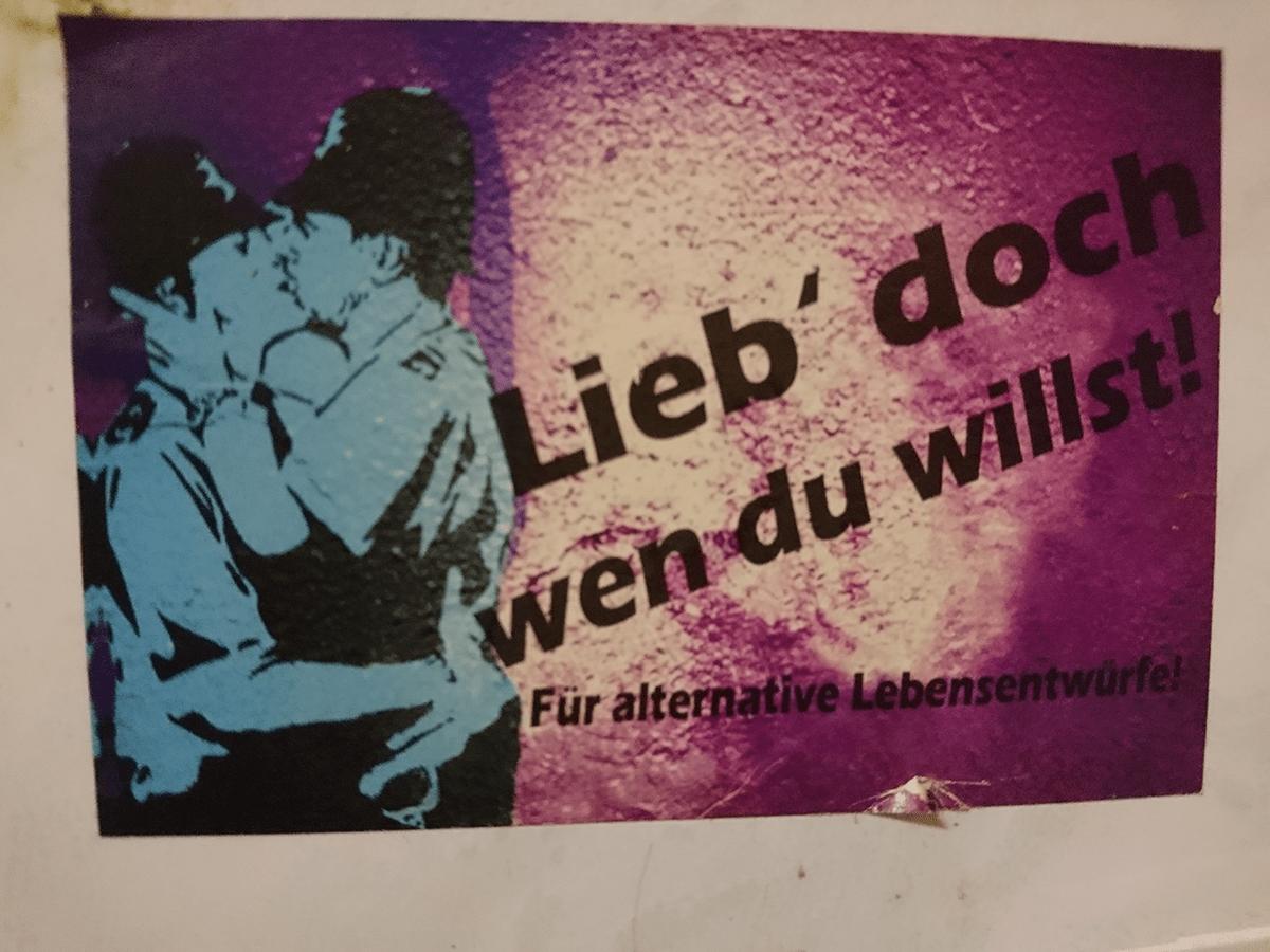 Freie Liebe - Ist das Politik oder kann das weg?