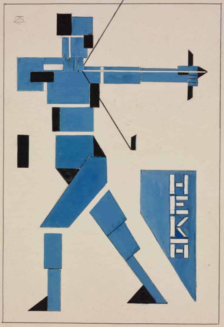 Bogenschütze, Theo van Doesburg