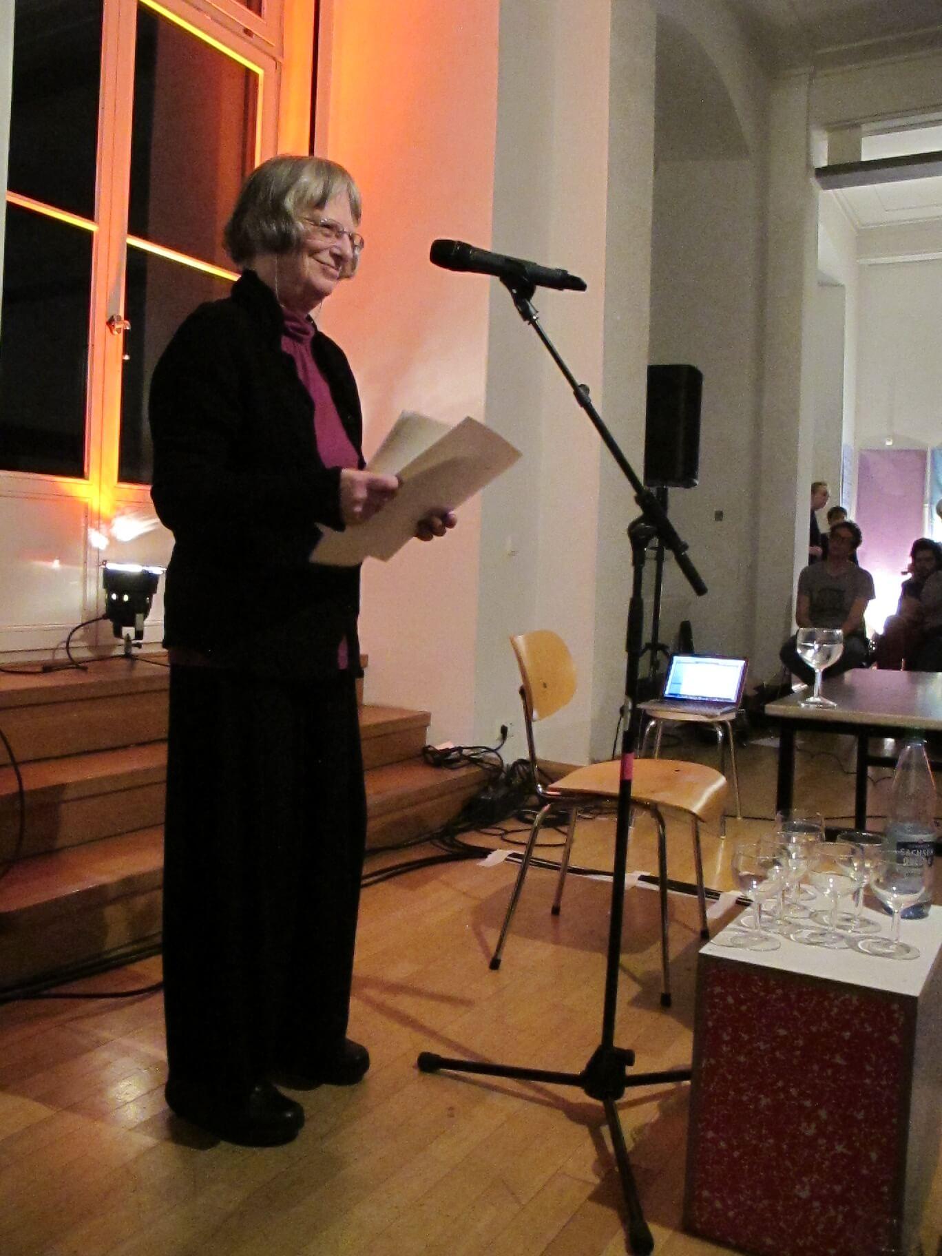 Leipzig Buchmesse 2014 elke erb - Schreib-Ich, es setzt auf mich. Zu Elke Erb