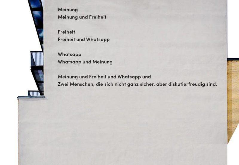 studienleistung e1518861262676 800x553 - Grauer WhatsApp-Dialog an trüben Dezembertagen