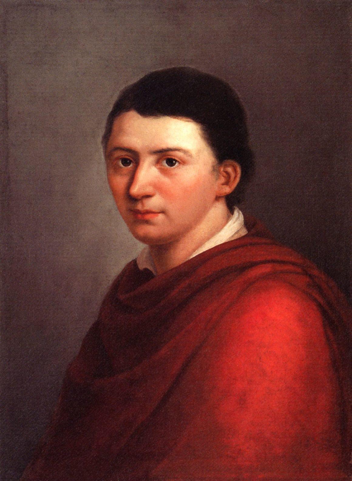 Franz Gareis Portrait Friedrich Schlegel 1160x1585 - Alles geil. Hyperironie und Ultraromantik