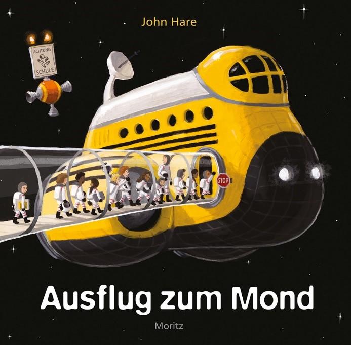 """Cover Ausflug zum Mond - Die Schönheit der Erde, Mut und ganz viel Fantasie: """"Ausflug zum Mond"""""""