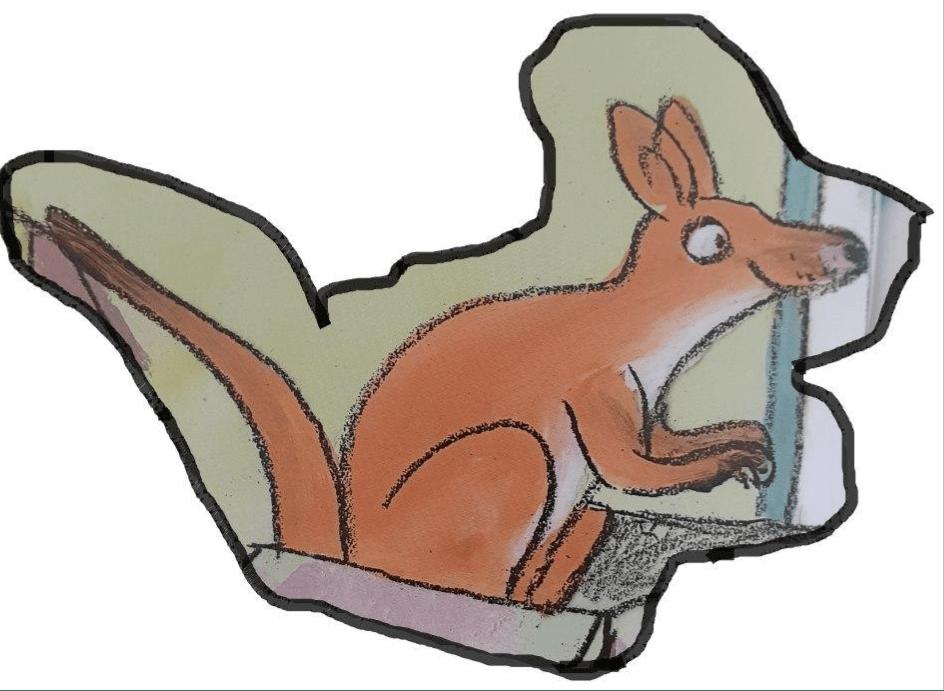 """Ka%CC%88nguru 1 - Die Maus im Haus. """"Seepferdchen sind ausverkauft"""""""