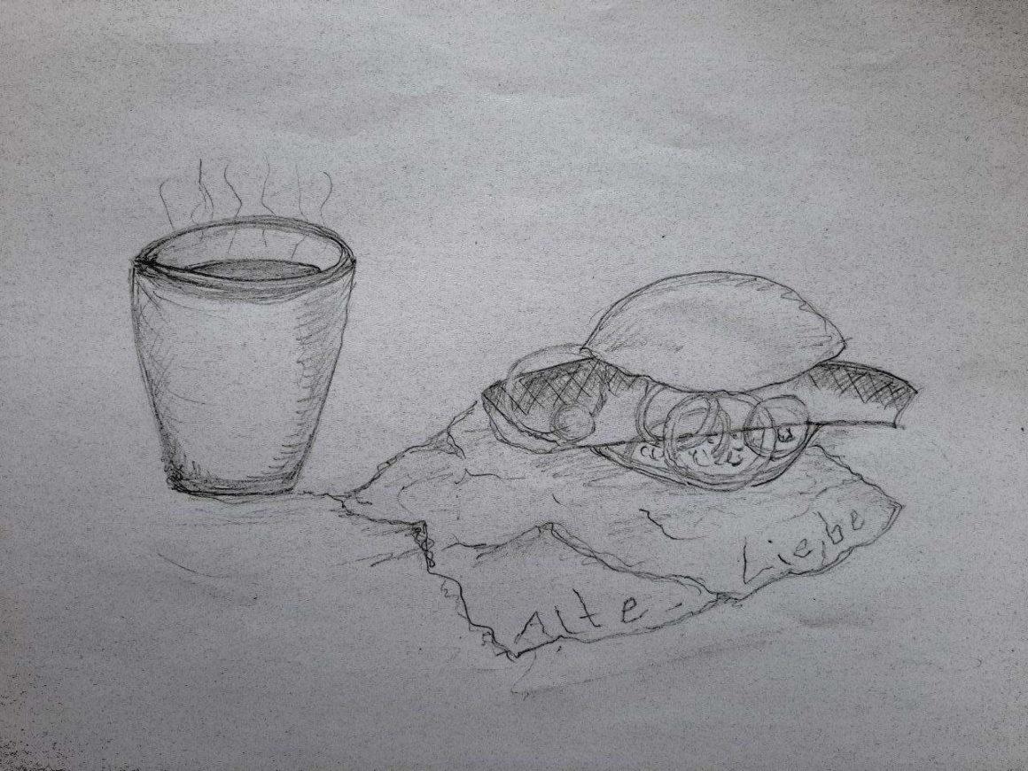 Zeichnung 1160x870 - Kakao und Fischbrötchen